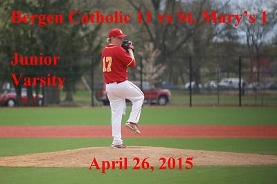 BC vs St Mary's JV 4-26-15