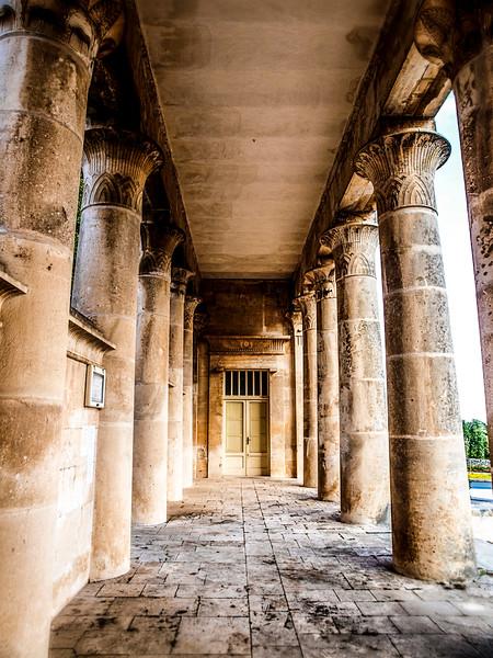 Basilica dei Santi Cosma e Damiano Cemetery on the SS172 tratto Alberobello-Putignano
