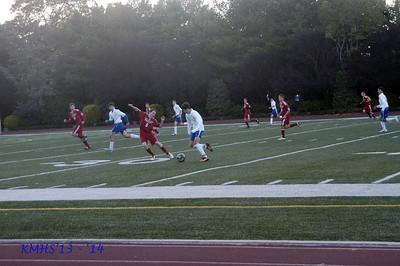 Boys JV Soccer 10-24-13 F Munzio6C, K Pinardi6C &  A Deignan6A