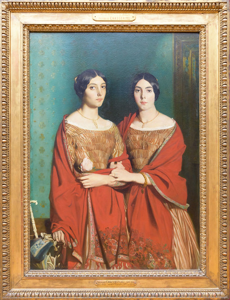 Théodore Chassériau, The Two Sisters, 1843