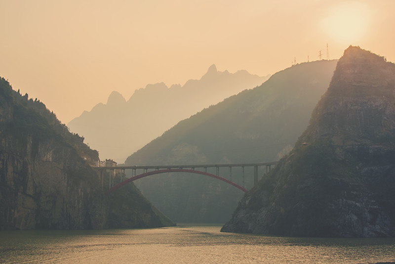 Yangzi in the Three Gorges