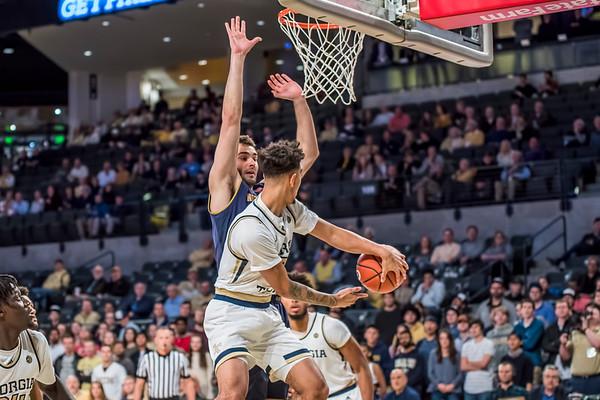 2019 Ga. Tech men vs. Notre Dame, 1-22-19
