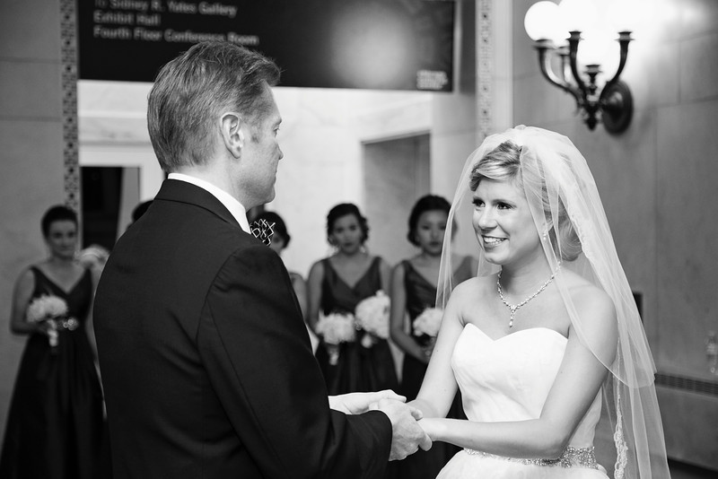 Le Cape Weddings - Chicago Cultural Center Weddings - Kaylin and John - 010 First Look with Daddy 8