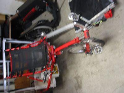 the Bike crash and Burn