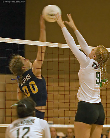 Eau Gallie HS vs. Melbourne HS Volleyball, 23 Oct 07