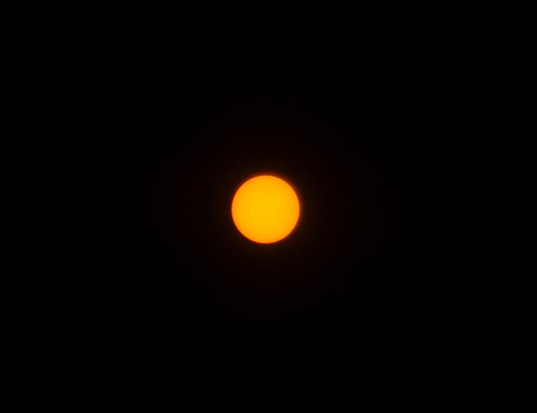 Sun - Testing 50mm lens - 28/9/2015 (Processed single image)