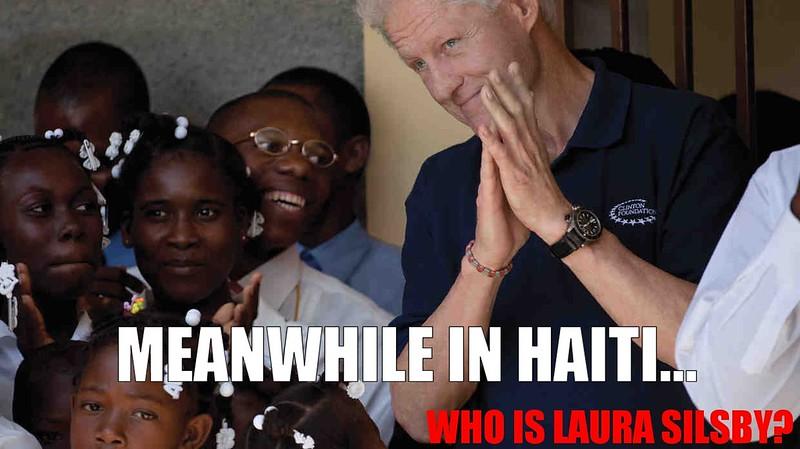 Shithole -Haiti-Clinton Foundation