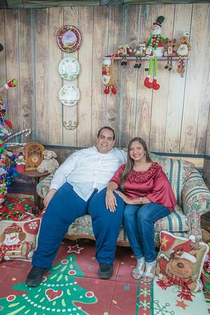 48. Sesión Familiar de Paola Gonzalez Navidad 2019