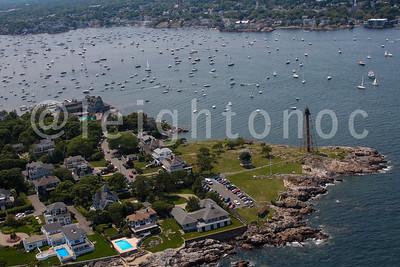 Aerial Photos of Beverly, Cape Ann,  Danvers, Gloucester,  Marblehead, Salem, Sandwich & Block Island