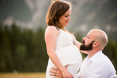 Ginette and Mark's Pregnancy photos