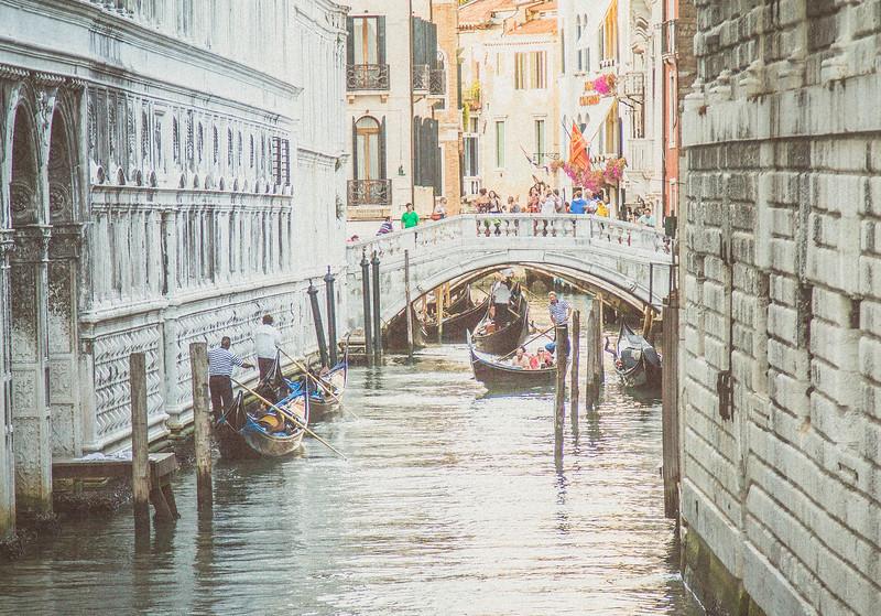 Traffic Jam in Venice