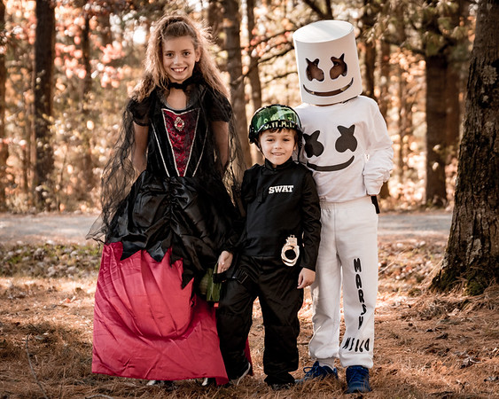 Lily, Konner, & Alex Halloween