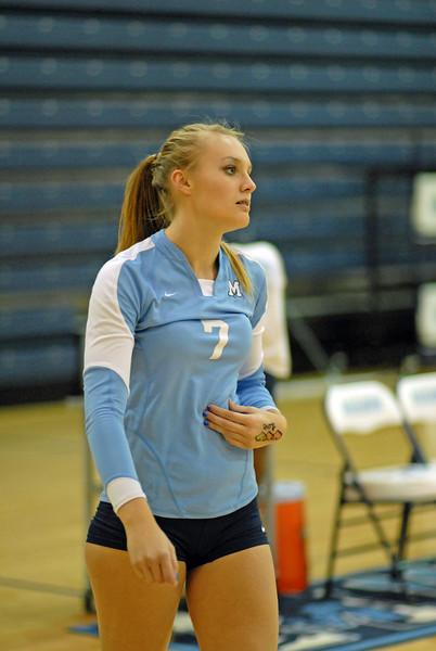 JL Mann V Greenville High Varsity Volleyball 2009