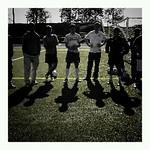 WUSTL Soccer players