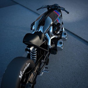 Twin turbo R9T - Design - Ziggy Moto