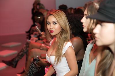 Yvon Lux at LA Fashion Week