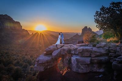 Ashley & Max's Sedona Wedding