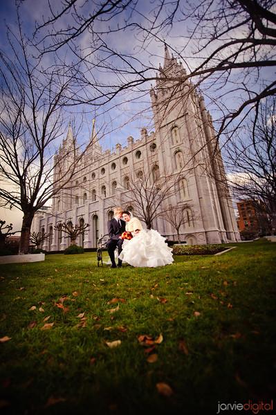 Salt Lake City Temple Wedding (Highlights First)