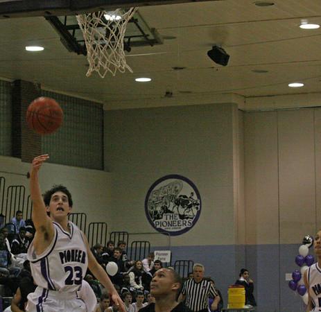 Belleville at Pioneer -JV basketball 2007