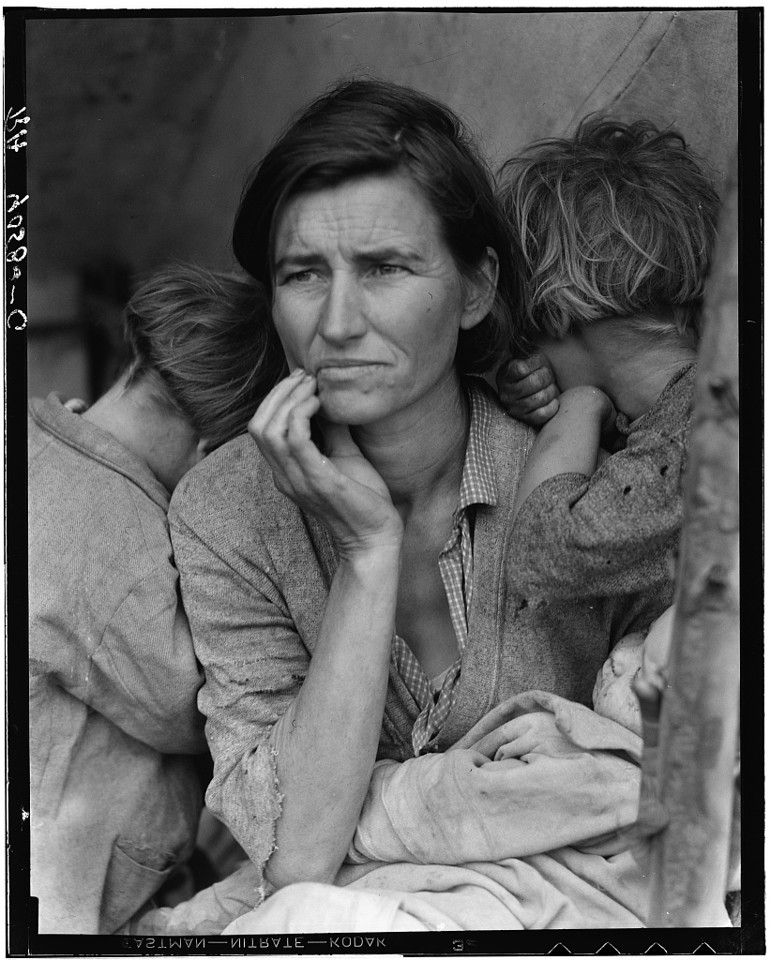World Famous Photos - Migrant Mother - Dorothea Lange – 1936