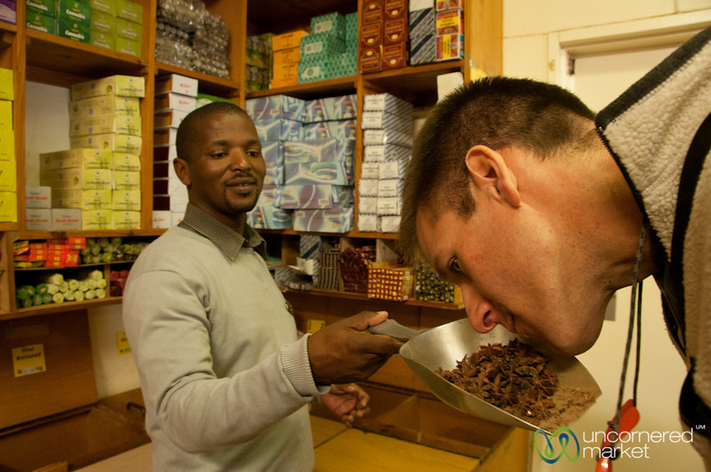 Learning About Spices in Bo Kaap, Cape Town