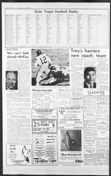 Daily Trojan, Vol. 58, No. 4, September 22, 1966