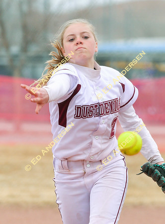 March 10, 2018; Dayton vs. Bishop, Varsity Softball (Yerington Tournament)