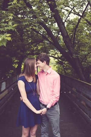 Brandon and Breanna Engagement