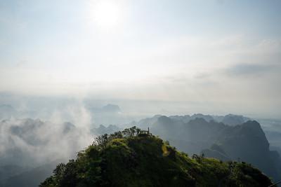 Mount Zwegabin in Kayin State