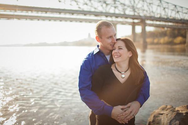 Vest & Luetkemeyer Engagement - Jefferson City, MO Wedding Photographer