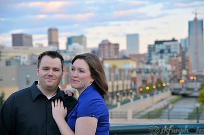 Ryan & Becky (city sundown)