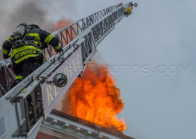 7 Alarm Structure Fire - 52 Sanborn St, Reading, MA - 6/1/17