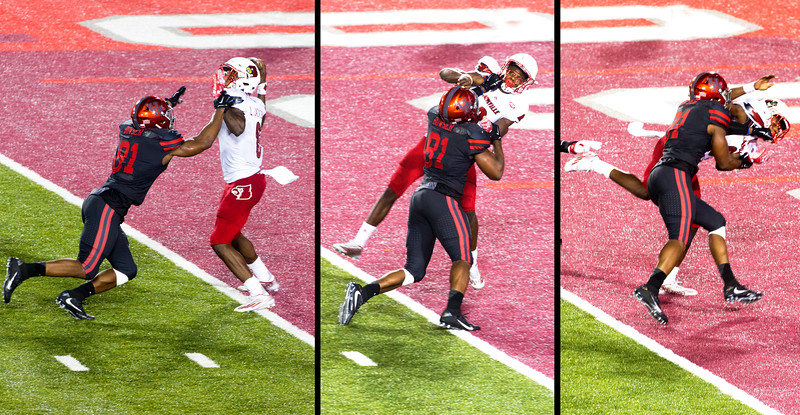 Then Bowser sacks Jackson one last time in the end zone.  A 2-point Safety for UH.