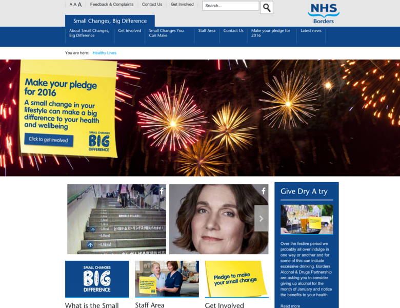 NHS (UK GOV) - Slide Bar Theme - Web