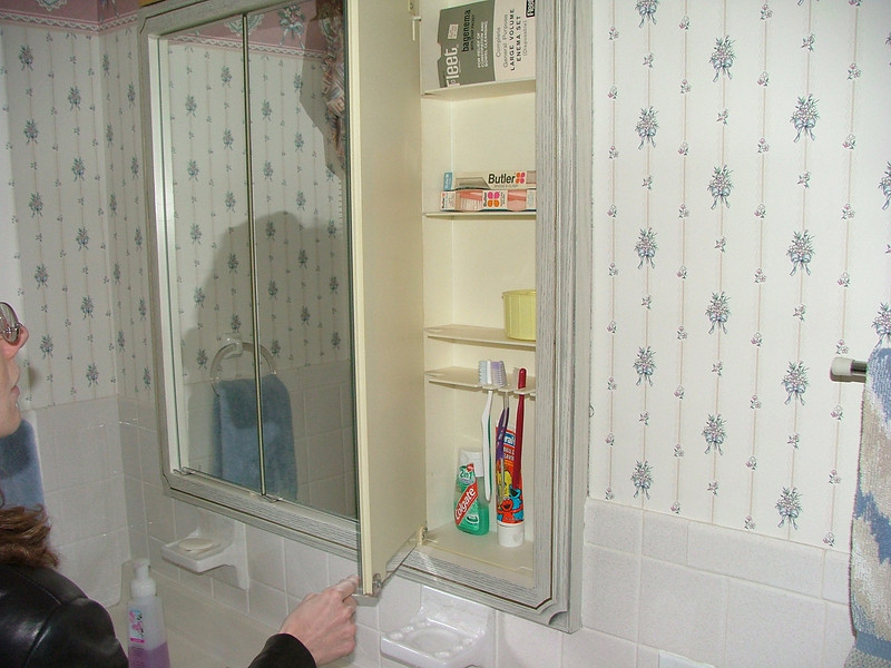 vanity in upstairs bath