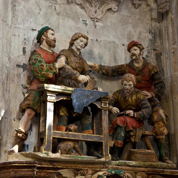 Troyes - Saint-Pantaleion Church, Saints Crepin and Crepinien