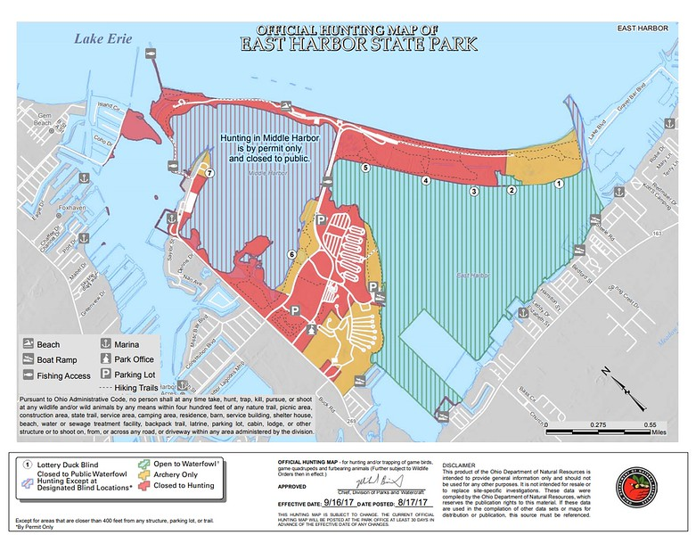 East Harbor State Park (Hunting Map)
