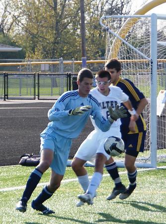 2011 Oakwood Boys Varsity Soccer vs Alter