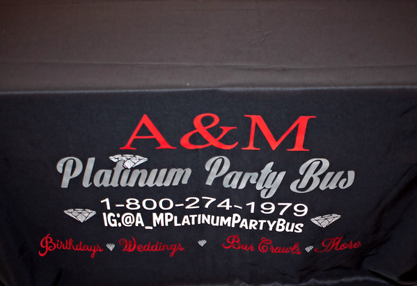 A&M Platinum Party Bus Launch Party