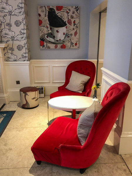 The Drawing Rooms at the Ampersand hotel