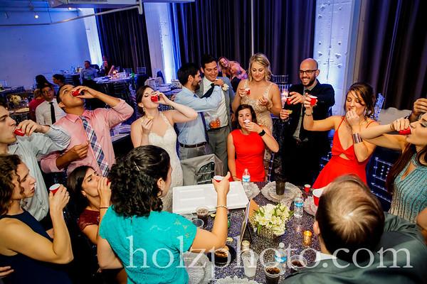 Jennifer & Ramiro Color Wedding Photos