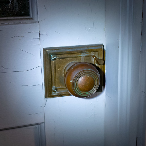 Examine the Door Knob