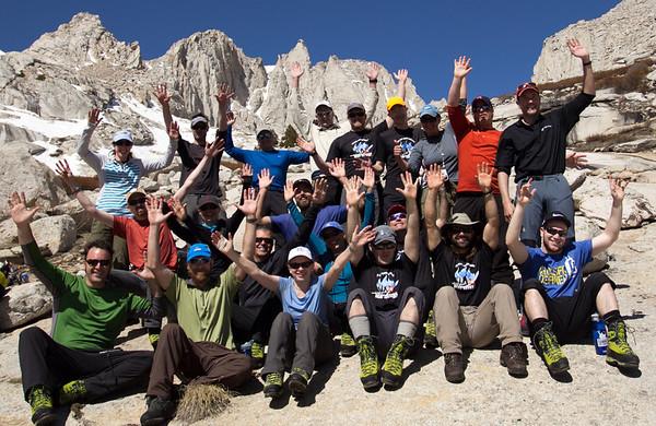 Whitney Mountaineers Route April 20-23 APRILS PICS