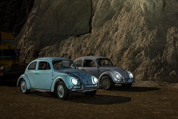 Old Cars at Night