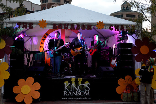 Lexington band photography: King's Ransom at the Bourbon Chase