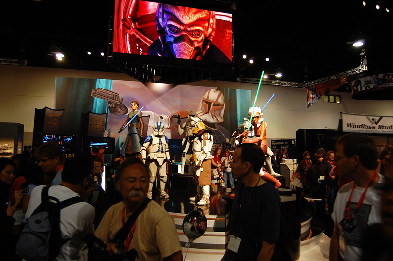 Lots of Star Wars dudes
