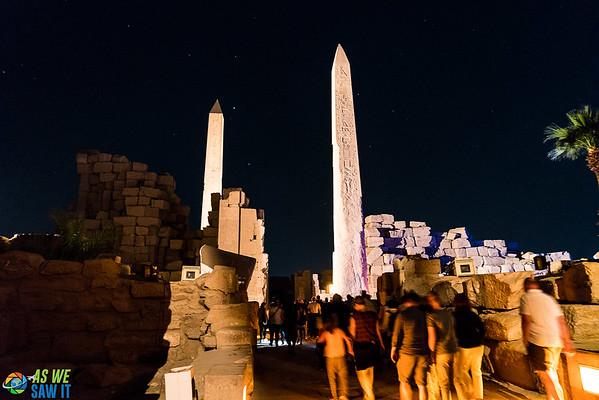 Night at Karnak