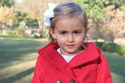 Sofia's Christmas Portraits
