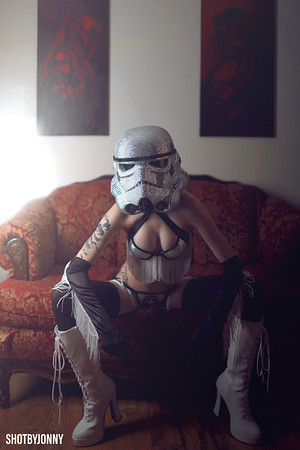 Lydia - Sexy Stormtrooper