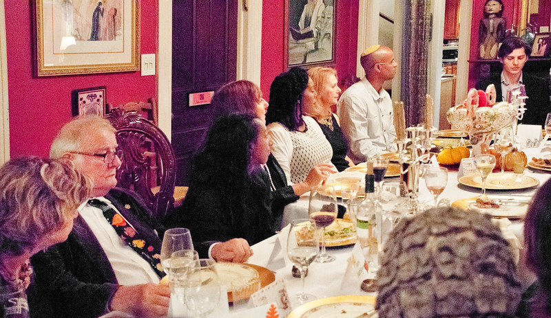 """Sheila Ash dinner party for """"Home Hospitality Opportunities: Leadership Development in Israel"""""""